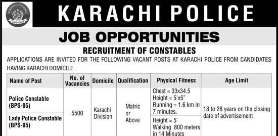 karachi-police-jobs