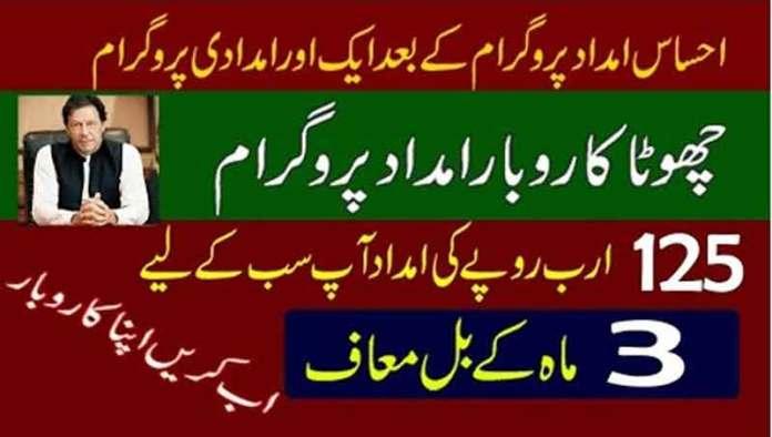 PM-Ehsaas-Chota-Karobar-Imdad-Scheme-2020