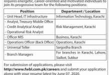 First-Women-Bank-Jobs-2020