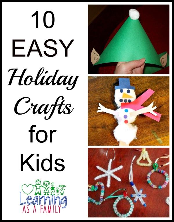 Kids Homemade Christmas Crafts
