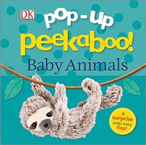 baby animals pop up book