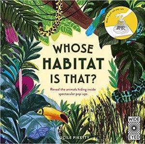 habitats pop up book