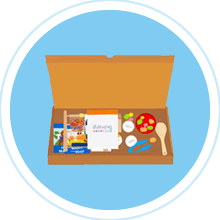 Learning club subscription box