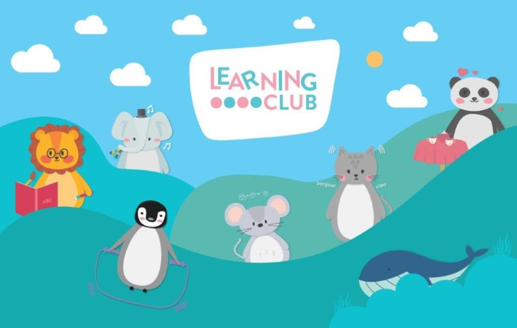 Learning Club Characters friends
