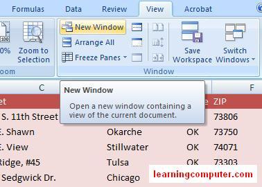 Microsoft Excel 2007 – View Tab   Softknowledge's Blog