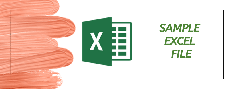 sample excel file for analysis