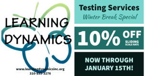 Winter break testing special
