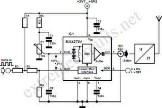 1.2GHz VCO With Linear Modulation Circuit Diagram