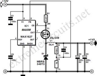 12V Glow Plug Converter Circuit Diagram