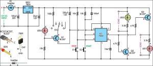 420mA Current Loop Tester Circuit Diagram