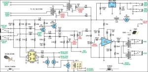 Aviation Inter Circuit Diagram