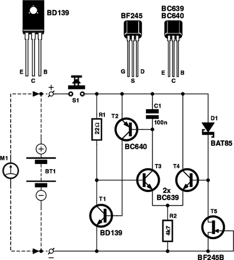 Battery Tester Circuit Schematic Circuit Diagram
