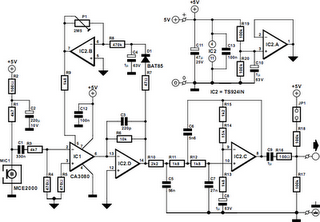 Compressor For Electret Microphone Circuit Diagram