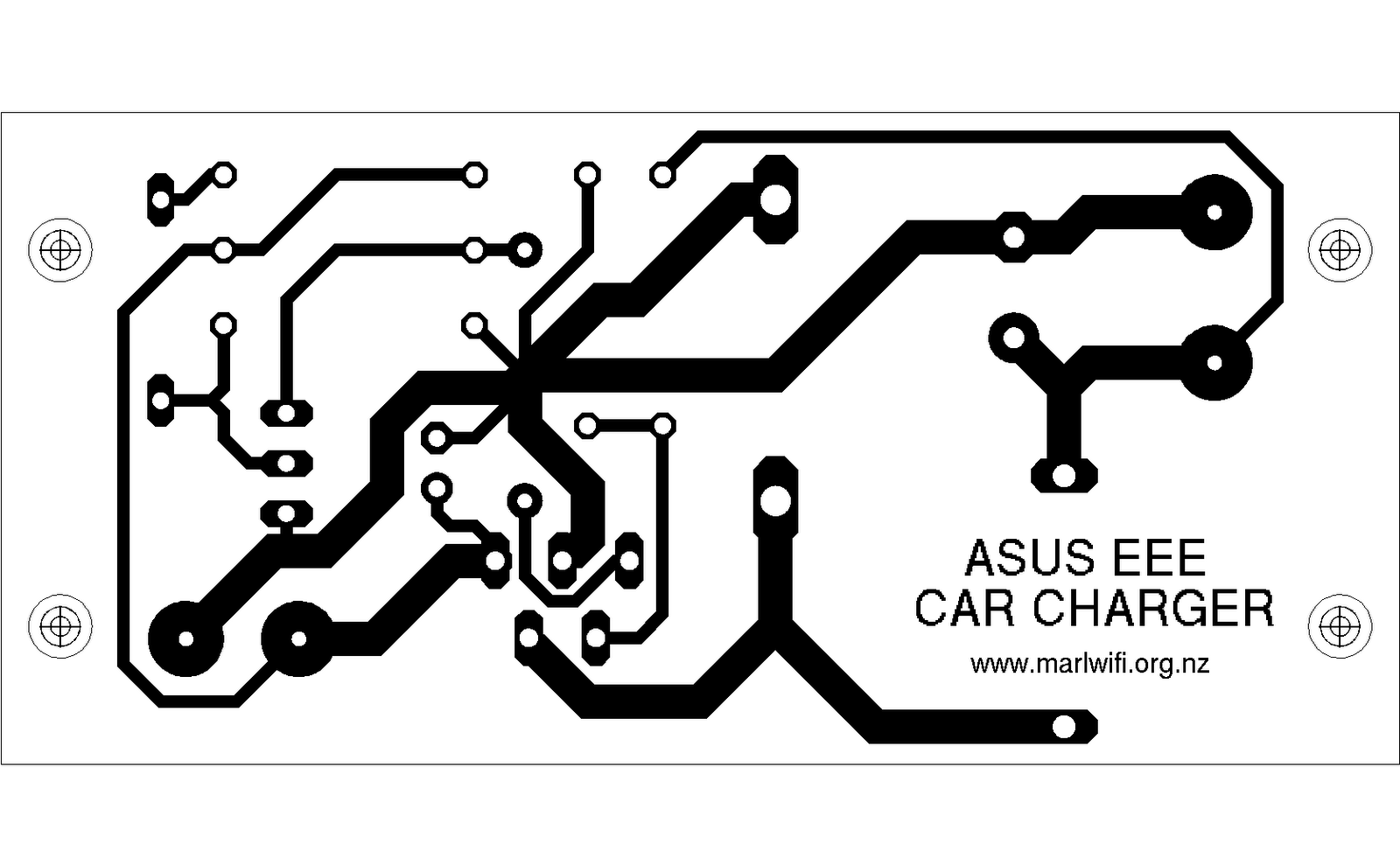 hight resolution of make yourself a pcb using the template below