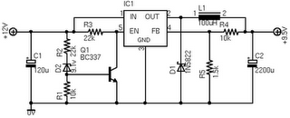 A 12V Car Charger For ASUS Eee Notebook Circuit Diagram