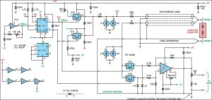ESR & Low Resistance Test Meter Circuit Diagram