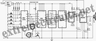 Fastest Finger First Indicator Circuit Diagram