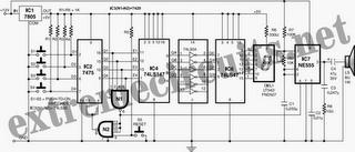 Fastest Finger First Indicator Circuit Diagram