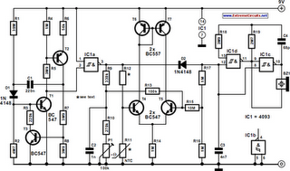 General-Purpose Alarm Circuit Diagram