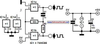 General Purpose Oscillator Circuit Diagram