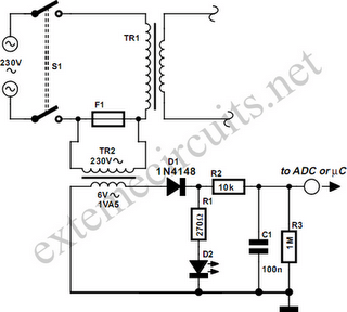 Isolated Fuse Fail Indicator Circuit Diagram