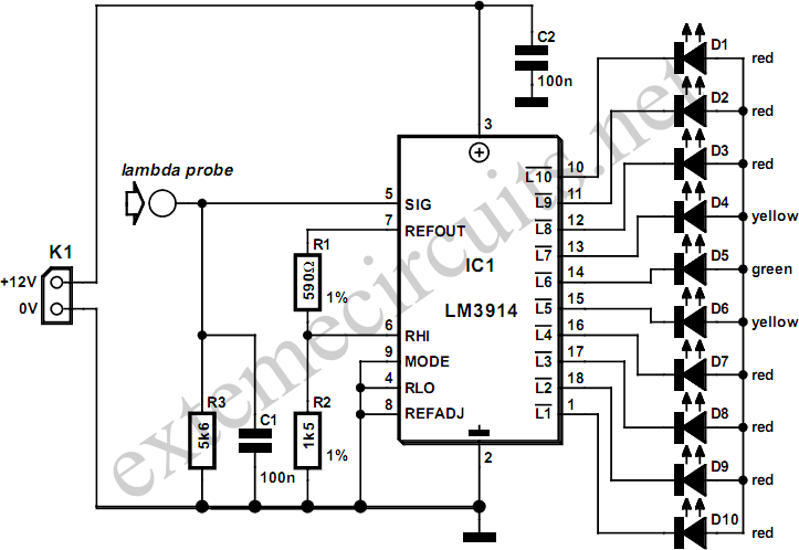 circuit diagram car tuning