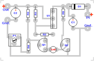 Lead Acid Battery Charger #1 Circuit Diagram