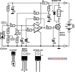 Rechargeable Lamp Circuit Diagram, Rechargeable, Free