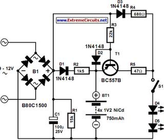 LED Lighting For Consumer Unit Cupboard Circuit Diagram