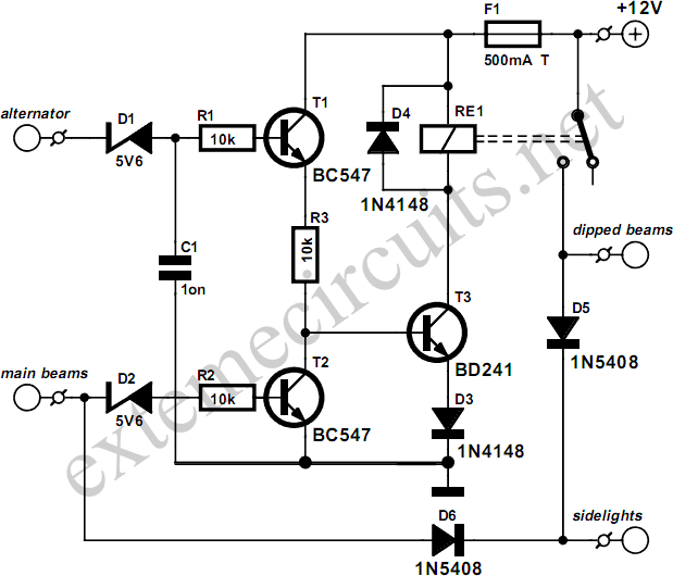 Lights On! Circuit Diagram