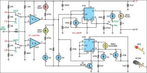 Logic Probe With Sound Circuit Diagram