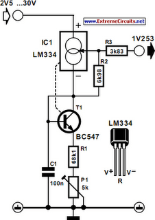 Low-Power Voltage Reference Circuit Diagram