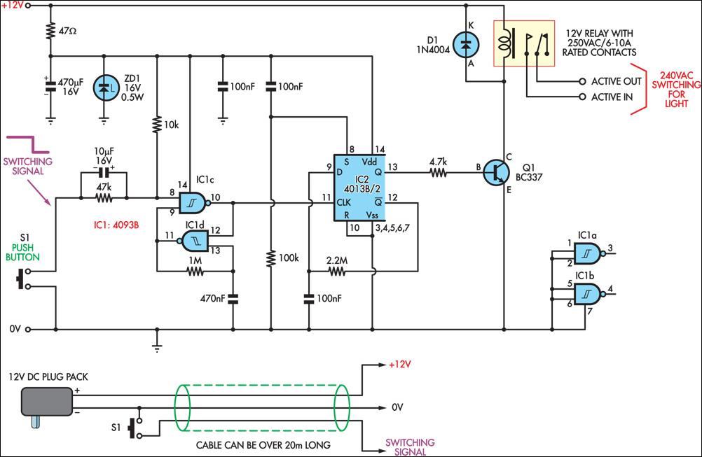 wiring diagram for light bar switch 2004 chevy cavalier engine low-voltage remote mains circuit