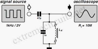 Measuring Inductors Circuit Diagram