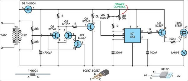 10v Dimmer Wiring Diagram Schematic Model Theatre Lighting Dimmer Circuit Diagram