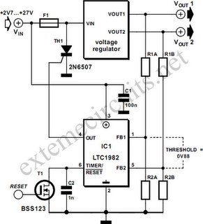 Overvoltage Protection Circuit Diagram