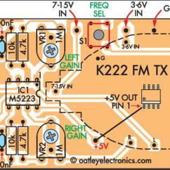 Fm Wireless Microphone Circuit Diagram Large Network With Exchange Quality Stereo Or Audio Link