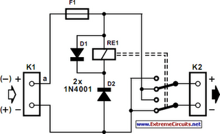 Polarity Reverser Circuit Diagram