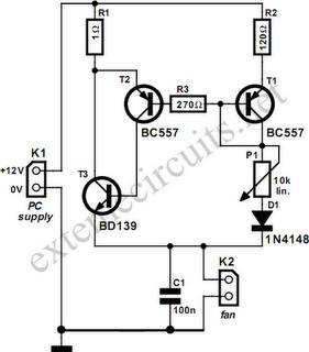 Processor Fan Control Circuit Diagram