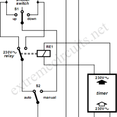 Roller Shutter Switch Wiring Diagram 4 Way Venn Rolling Motor Control Circuit