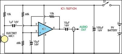 Room Recorder Circuit Diagram