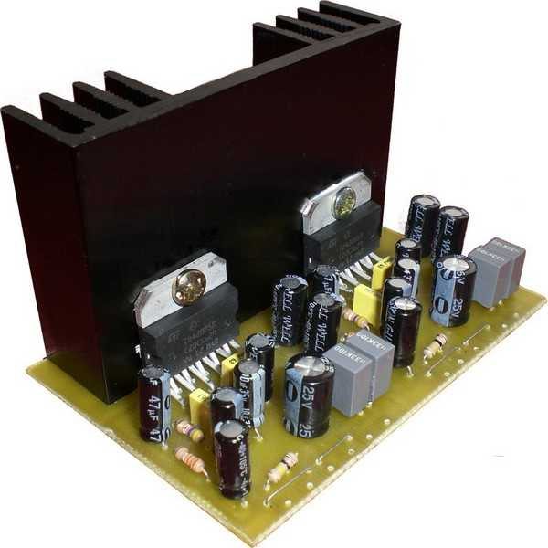 Schematic Audio Amplifier With Ic Tda2004