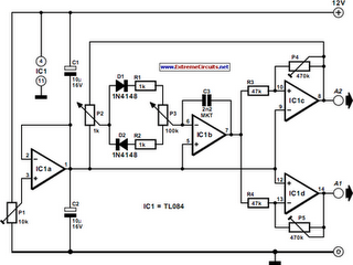 Simple Function Generator Circuit Diagram