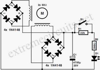 Stepper Motor Generator Circuit Diagram