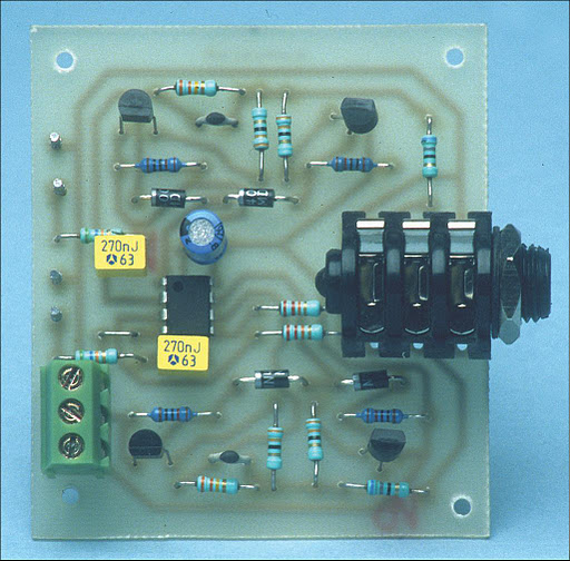Headphone Amplifier By Transistor Bc109
