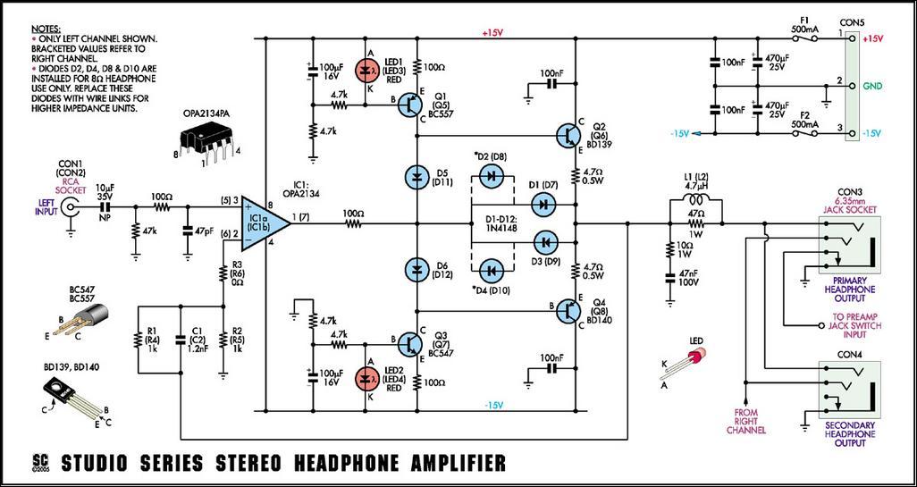 studio_series_stereo_headphone_amplifier_circuit_diagram