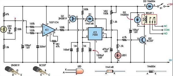 Timer Relay 120v Wiring Diagram Super Light Sensor Circuit Diagram