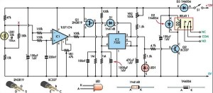 Super Light Sensor Circuit Diagram