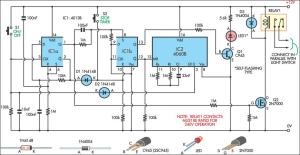 Switch Timer For Bathroom Light Circuit Diagram