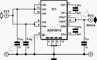 Switching Voltage Regulator Circuit Diagram